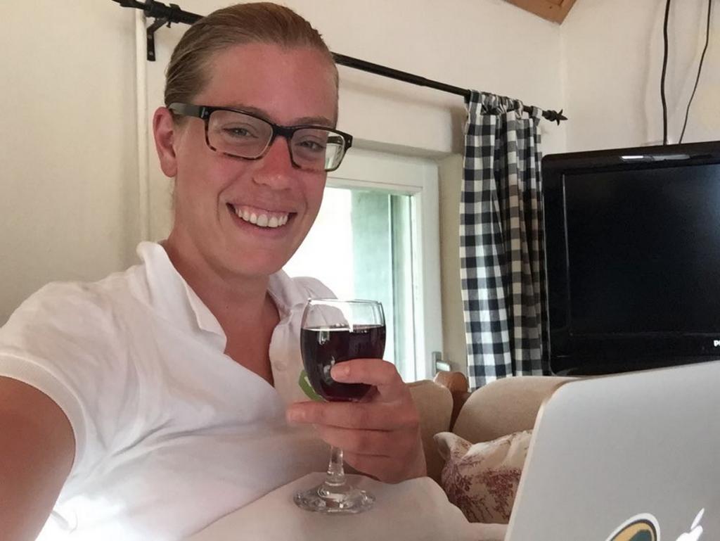Glaasje wijn