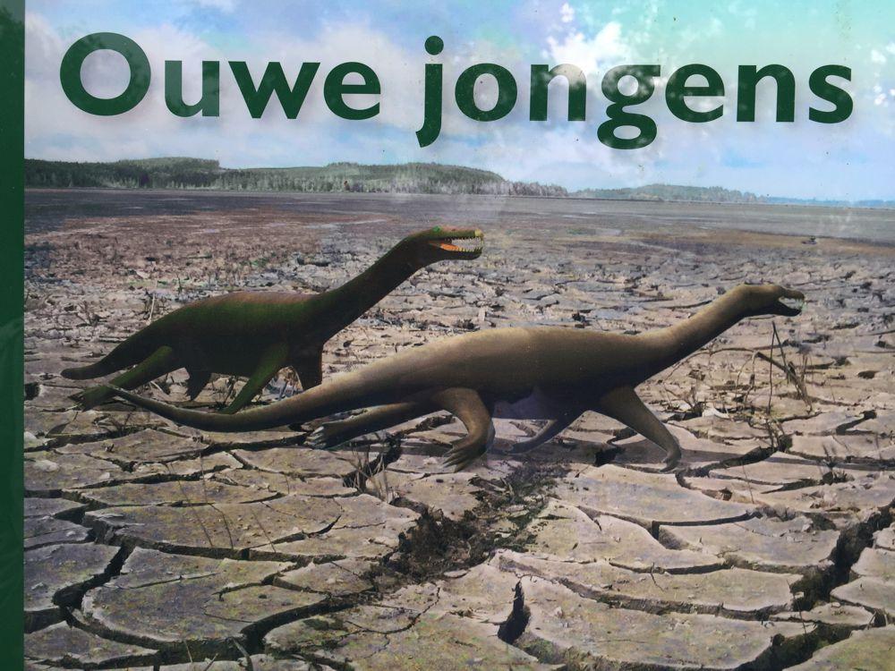 Dinosauriërs in de steengroeve