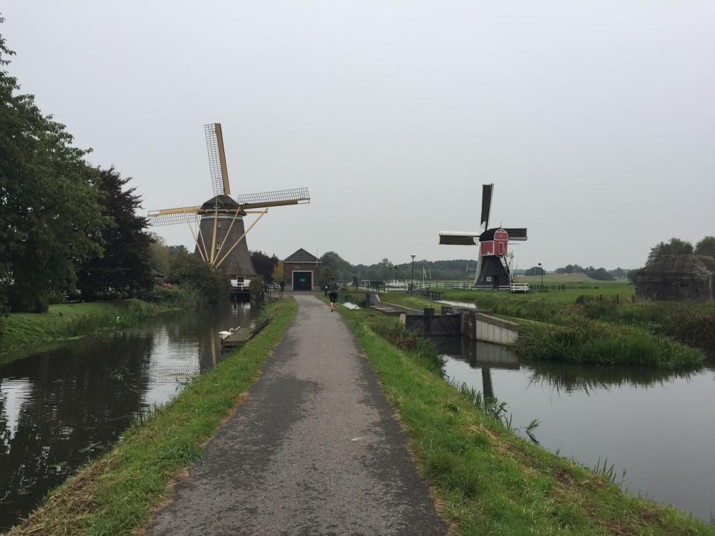 Fietsroute Utrecht: wipwatermolen en achtkantige bovenkruier