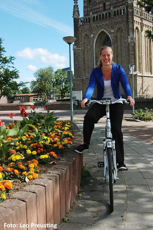 Mirre fietst met ©