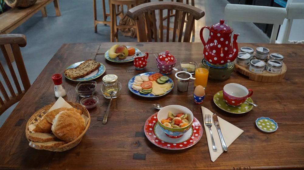 Ontbijt bij Woeste Wieven