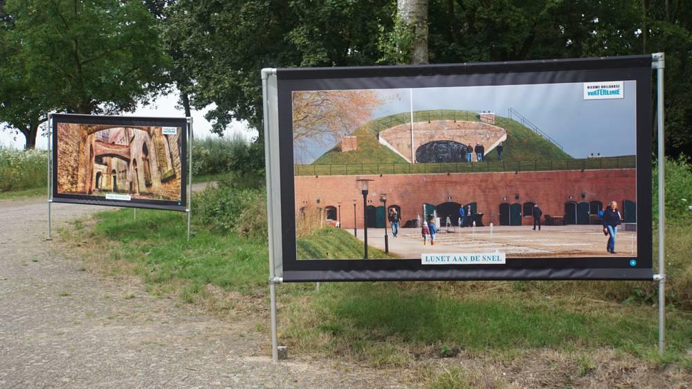 Fototentoonstelling bij fort Honswijk