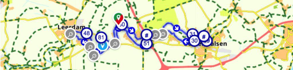 Bloesemtocht-knooppunten-route