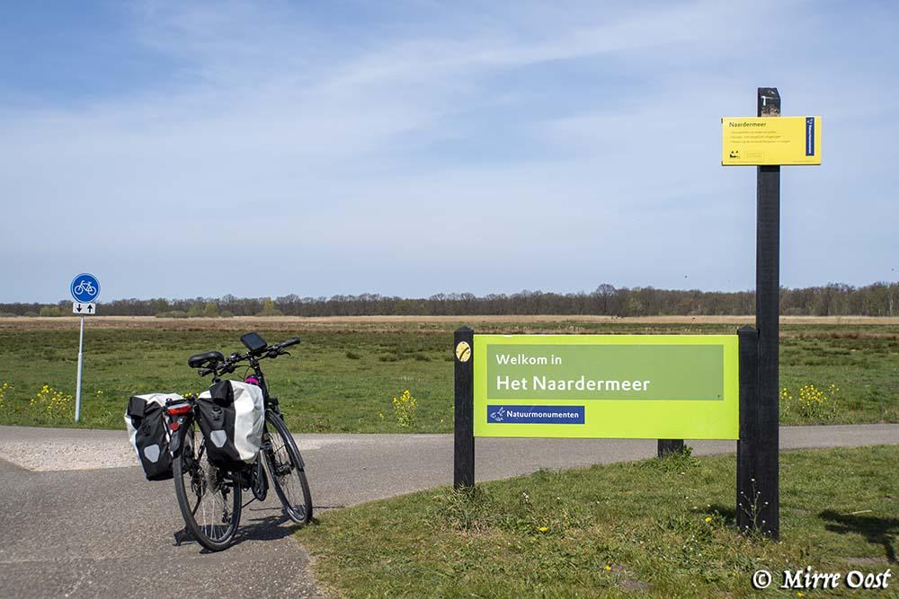 Rondje Naardermeer fietsen 007-1