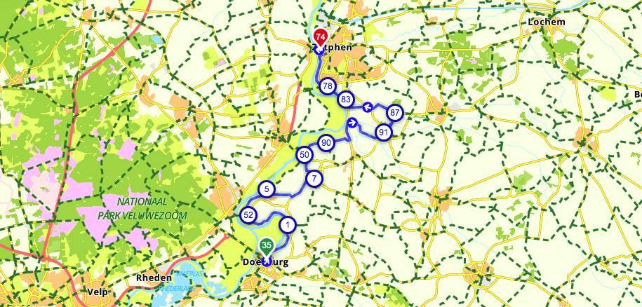 Hanzefietsroute-Dag-1-Doesburg-Zutphen
