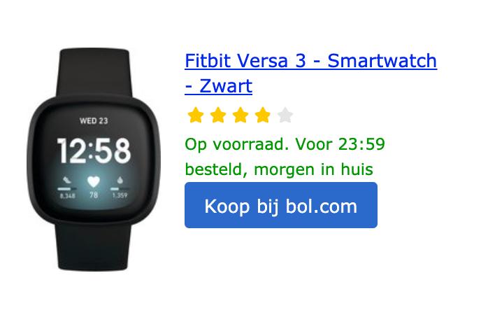 Fitbit-Versa-3-smartwatch-zwart